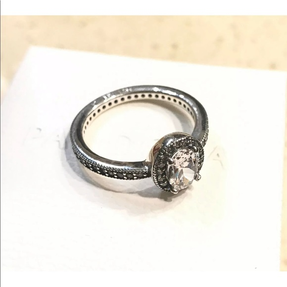 e6cfa7468 Pandora Jewelry   Vintage Elegance Ring Clear Cz 191017cz   Poshmark